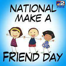 National Make a Friend Day Wishes