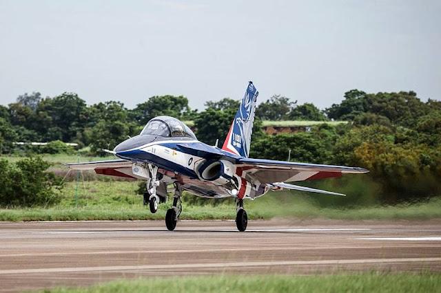 Taiwan Brave Eagle trainer jet