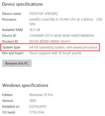 Windows 32-bit atau 64-bit? Begini Cara Membedakannya - WandiWeb