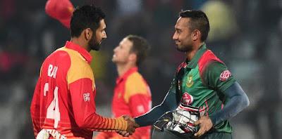 Bangladesh Tri-Series 2019 BAN vs ZIM 1st T20I Match Cricket Tips