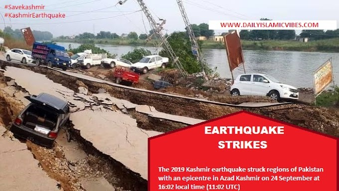 Earthquake Struck Over the Whole Cities of Kashmir Region, Pakistan