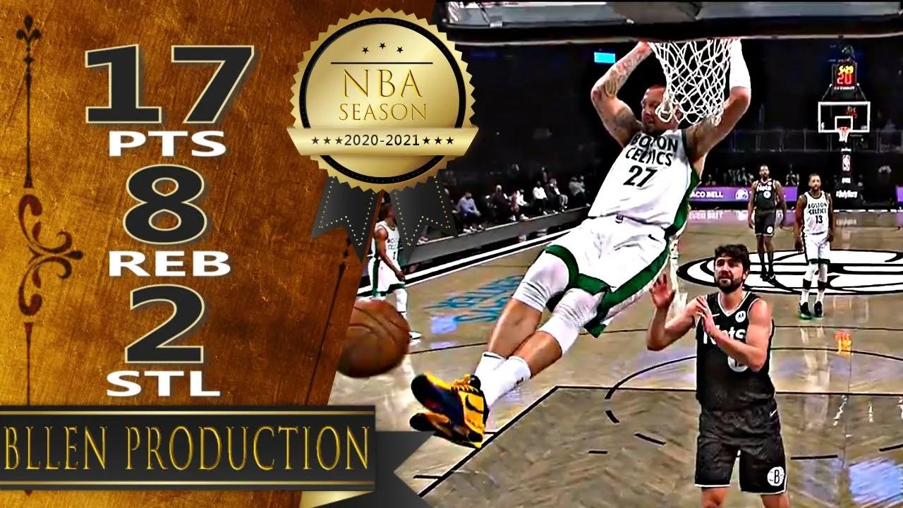 Daniel Theis 17pts 8reb vs BRK | March 11, 2021 | 2020-21 NBA Season