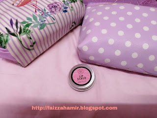 Lip Scrub Rose Lollypop ~ Dapatkan Kembali Bibir yang Pinkish