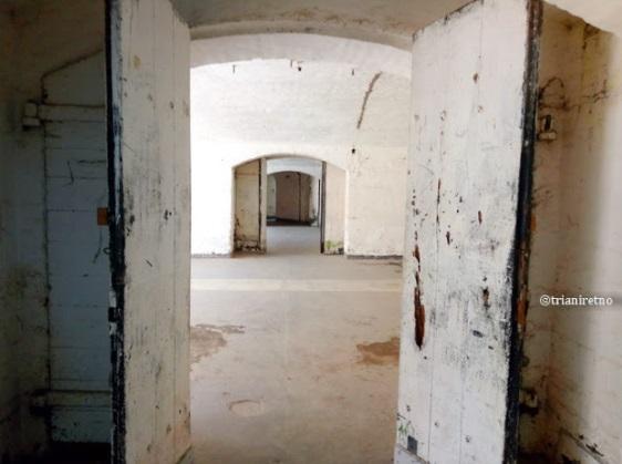 bagian dalam Benteng Van der Wijck Gombong