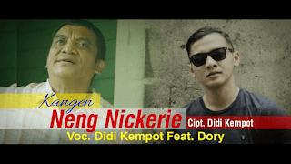 Lirik Lagu Kangen Neng Nickerie - Didi Kempot Feat. Dory