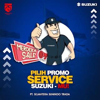 Suzuki Kemerdekaan Promo Home Servis Mobil Hemat
