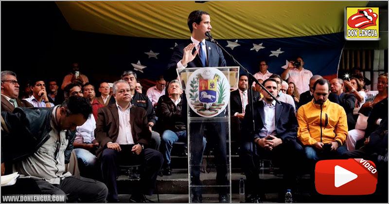 Guaidó crea un Consejo de Estado para convocar elecciones presidenciales
