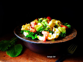 Italian pasta Vegetable Salad
