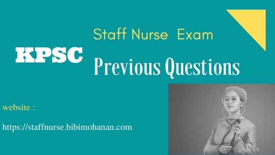 staff nurse kerala psc previous question paper download|Nursing Job Previous questions