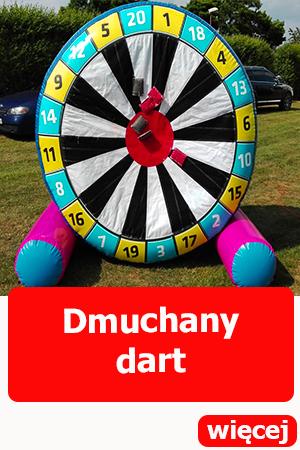 Dart dmuchany, dmuchańce Wrocław, atrakcje dla dorosłych,atrakcje dla dzieci, festyn, piknik, urodziny