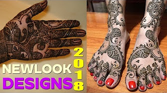 Latest Mehndi Designs 2018 – New Look Collections