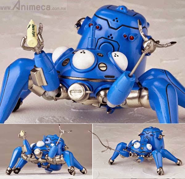 TACHIKOMA Anime Ver. No.126EX FIGURE Ghost in the shell STAND ALONE COMPLEX REVOLTECH YAMAGUCHI KAIYODO