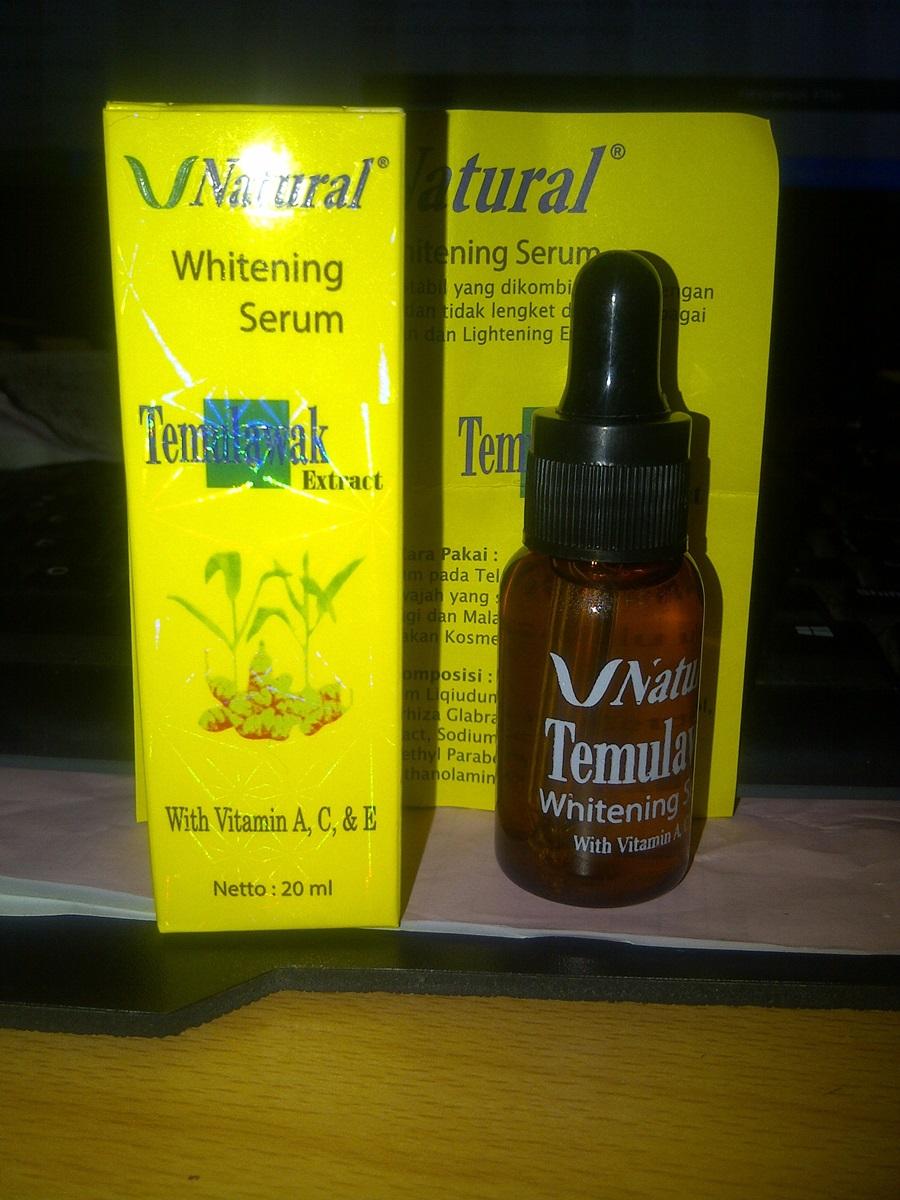 Serum Temulawak Whitening Original