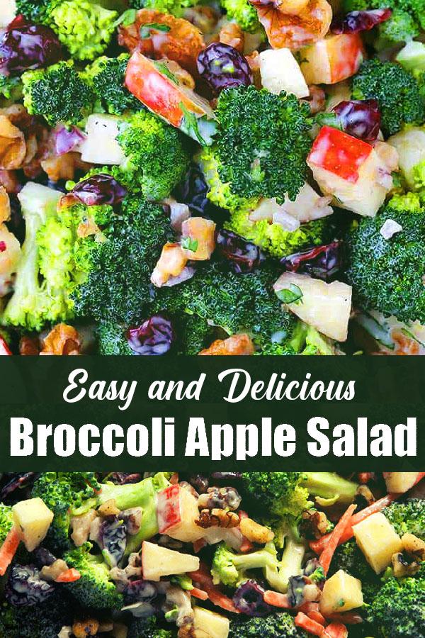 Easy and Delicious Broccoli Apple Salad