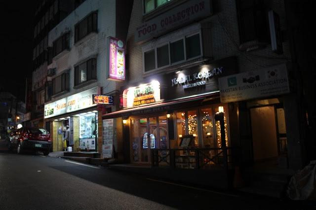 Kami berjalan masuk ke Sinchon subway station untuk ke Dongdaemun Culture Station exit  Korea Day 4 Part 2 Shopping Di Dongdaemun