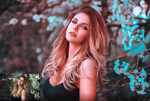 10 Free Cinematic Photo Effect Actions for Adobe Photoshop Free Download