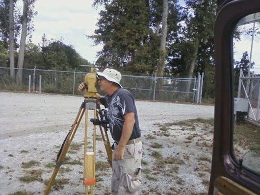 Highland Land Surveying: Out in the Field!