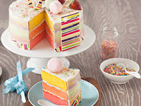 Cara Membuat dan Bahan Pinky Mellow Cake Resep Lengkap dan Mudah