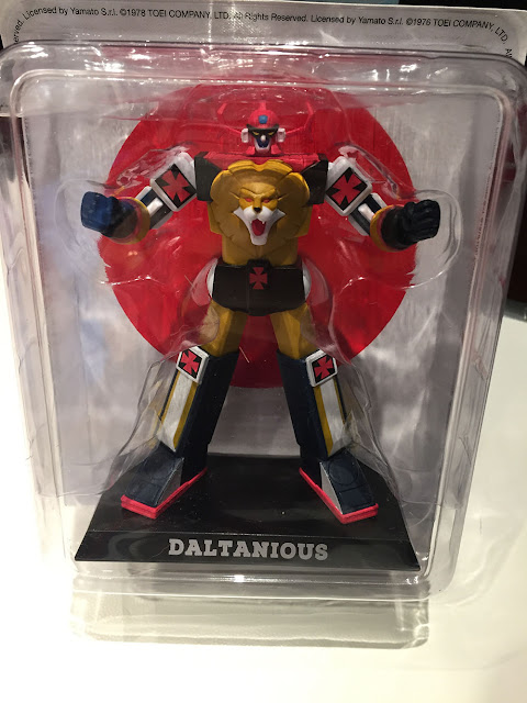 Daltanious edicola Anime Robot recensione