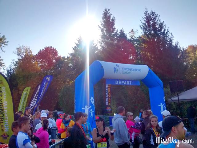 Demi-marathon du Bois de Belle-Rivière 2015 Courses Gourmandes