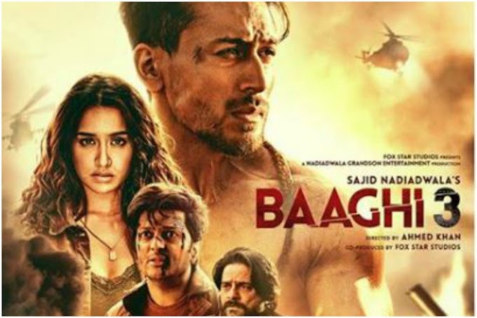 Baaghi 3 Full Movie Download 300 MB & 700 MB Online 720P Full HD Leaked by Tamilrockers