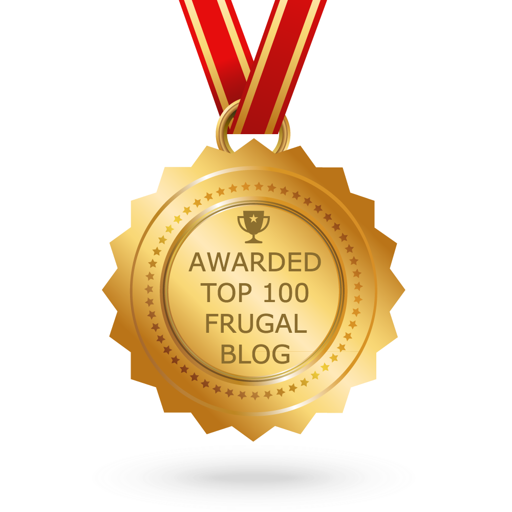 Voted In The Top 100 Frugal Blogs
