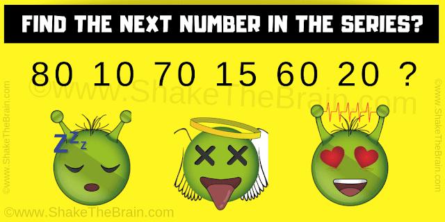 80 10 70 15 60 20 ?