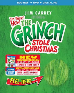 How The Grinch Stole Christmas Blu-Ray, DVD, Digital HD
