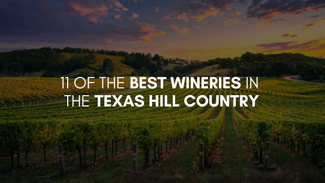 11 of the Best Wineries in the Texas Hill Country