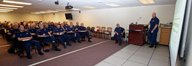 D5NR Mandatory CX training at Air Station Atlantic City