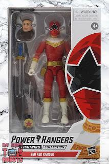 Power Rangers Lightning Collection Zeo Red Ranger Box 01