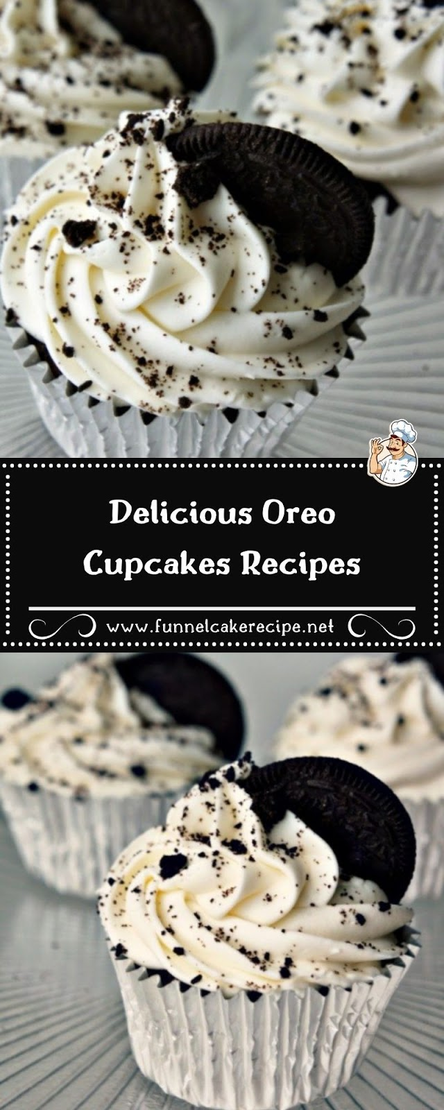 Delicious Oreo Cupcakes Recipes