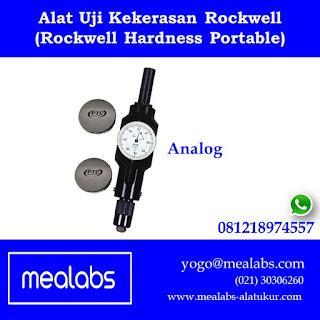 Alat Uji Kekerasan Rockwell Portable