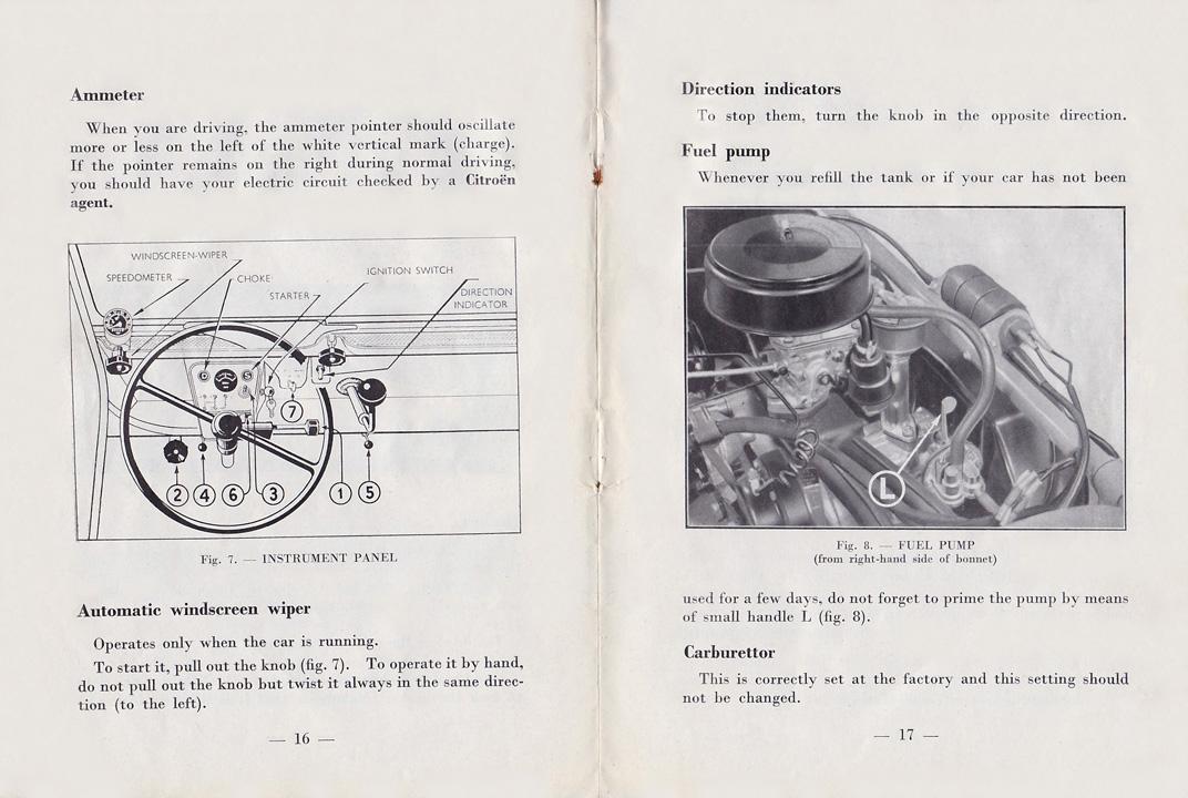 Bz U0026 39 S Bmw Isetta 300 U0026 39 S  Citroen 2cv Owners Manual 1959 Edition
