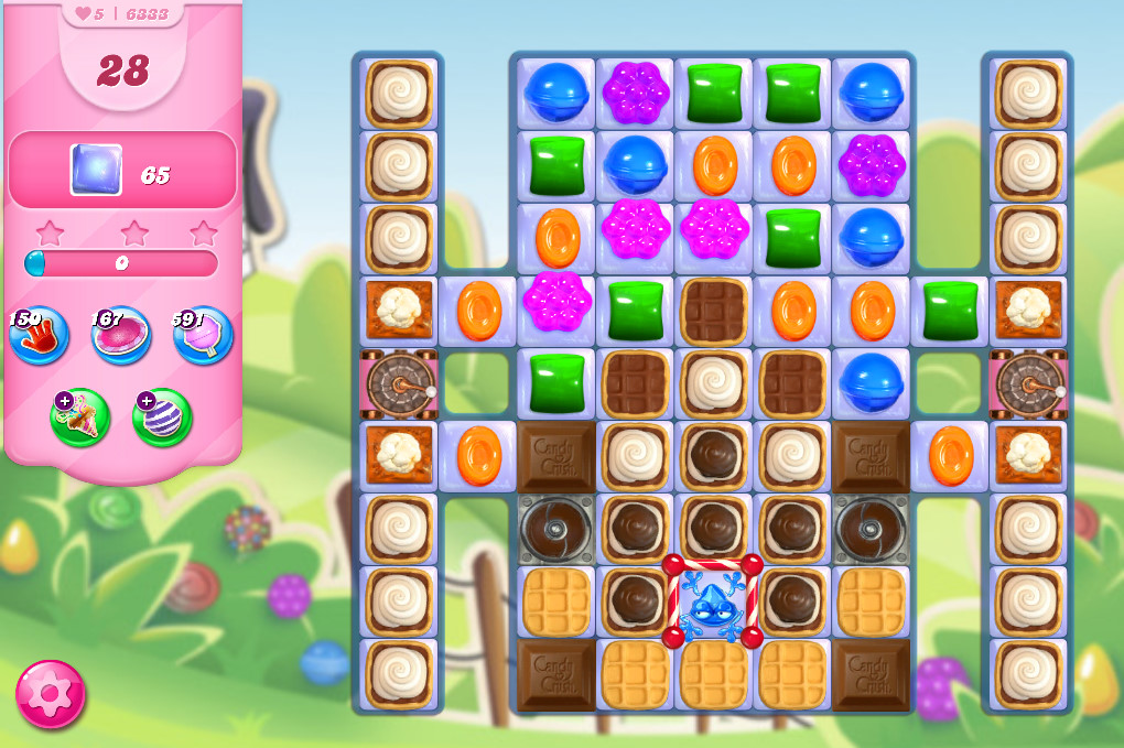 Candy Crush Saga level 6333