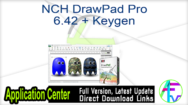 NCH DrawPad Pro 6.42 + Keygen
