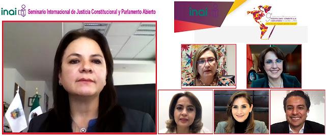 La justicia abierta fortalece la confianza ciudadana en los poderes judiciales: Del Río Venegas