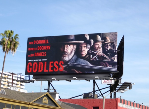 Godless Netflix miniseries billboard