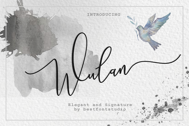 Wulan Script Download Font Free