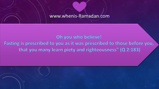 Ramadan Quotes And Hadiths