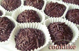 Cara Membuat Bola Coklat Roti Marie