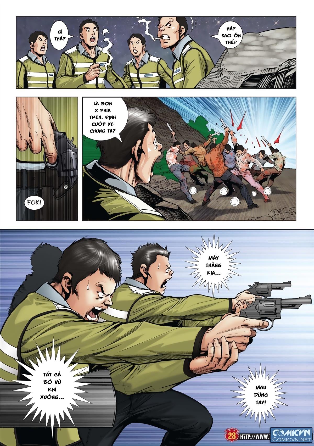 Người Trong Giang Hồ chapter 1986: chạy trang 26