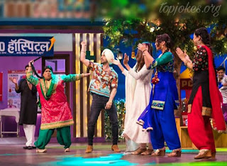 Diljeet has seen doing bhangra in the show and entertaining with sung his song.  He has been sharing photos from the sets of the show on his fb page account. He has been quite active on the social media site and keeps posting on it the entire day.