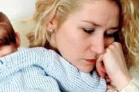Doğum Sonrası Depresyon Geçiren Kadın Fotoğrafı