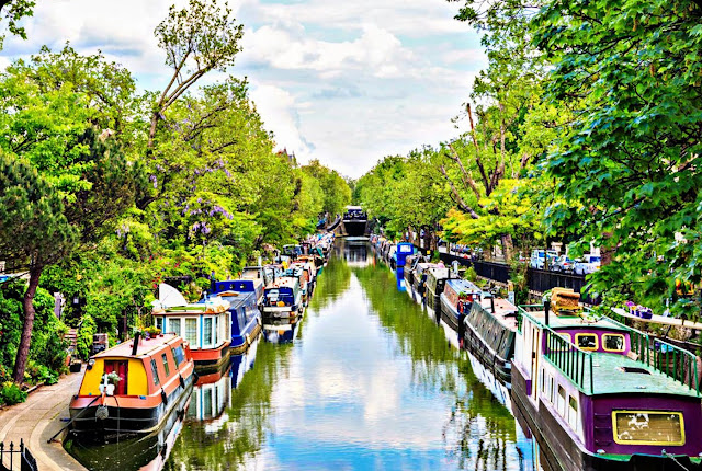 Regents canal (England)