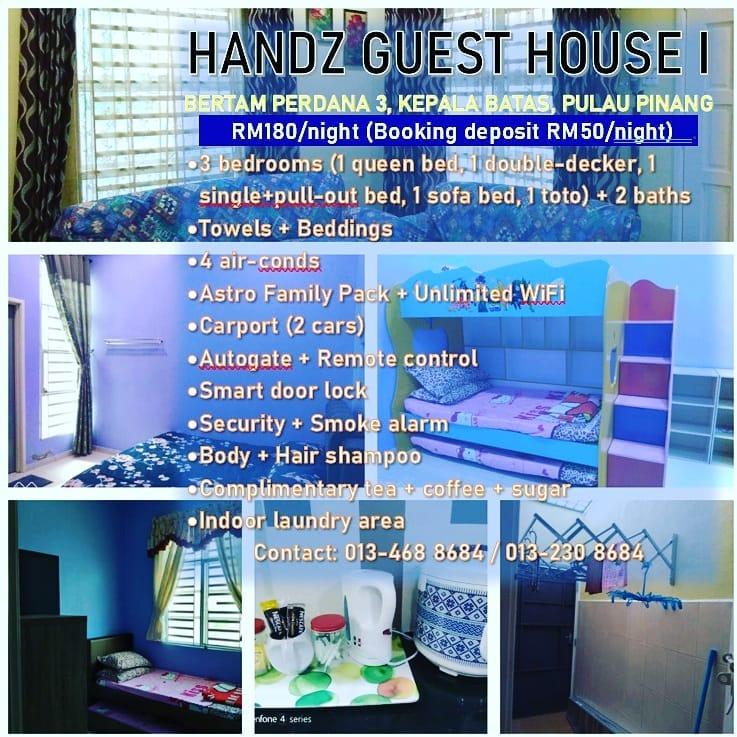 Handz Guest House 1 Percutian Pulau Pinang