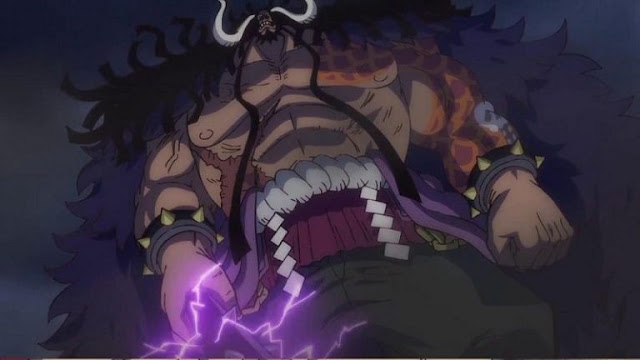 New chapter One Piece leads to Kaido Race?