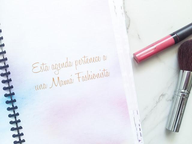 agenda Mamá Fashionista 2018