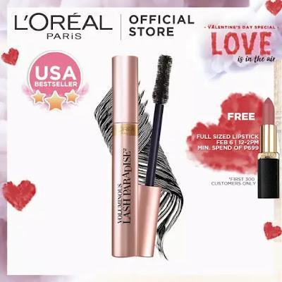 L'Oreal Voluminous Lash Paradise Mascara Review + L'Oreal February Sale