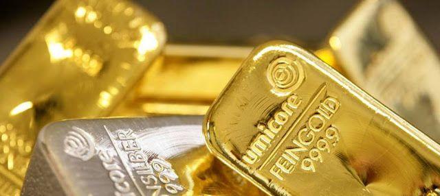Precio del oro y plata suben